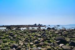 三ツ石海岸の海辺