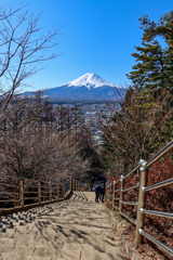 緊急事態宣言直前の富士山