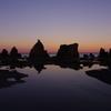橋杭岩の夕暮れ