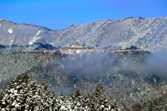 竹田城跡 雪化粧-Ⅱ