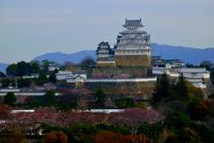 姫路城 昨年