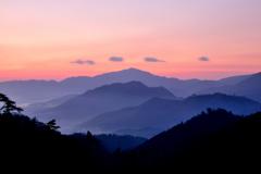竹田城跡 日の出前