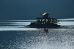 銀山湖の朝