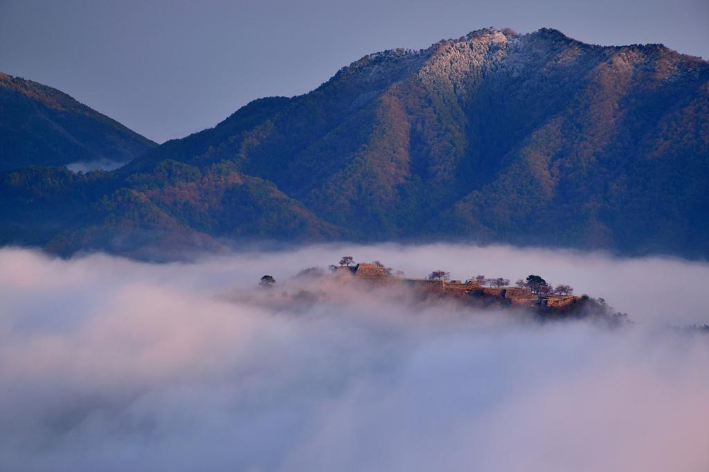 竹田城跡 久しぶりの雲海