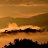 竹田城跡 朝焼けと雲海