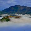 竹田城跡 霧は気まぐれ