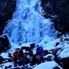 篇妙の滝 氷瀑