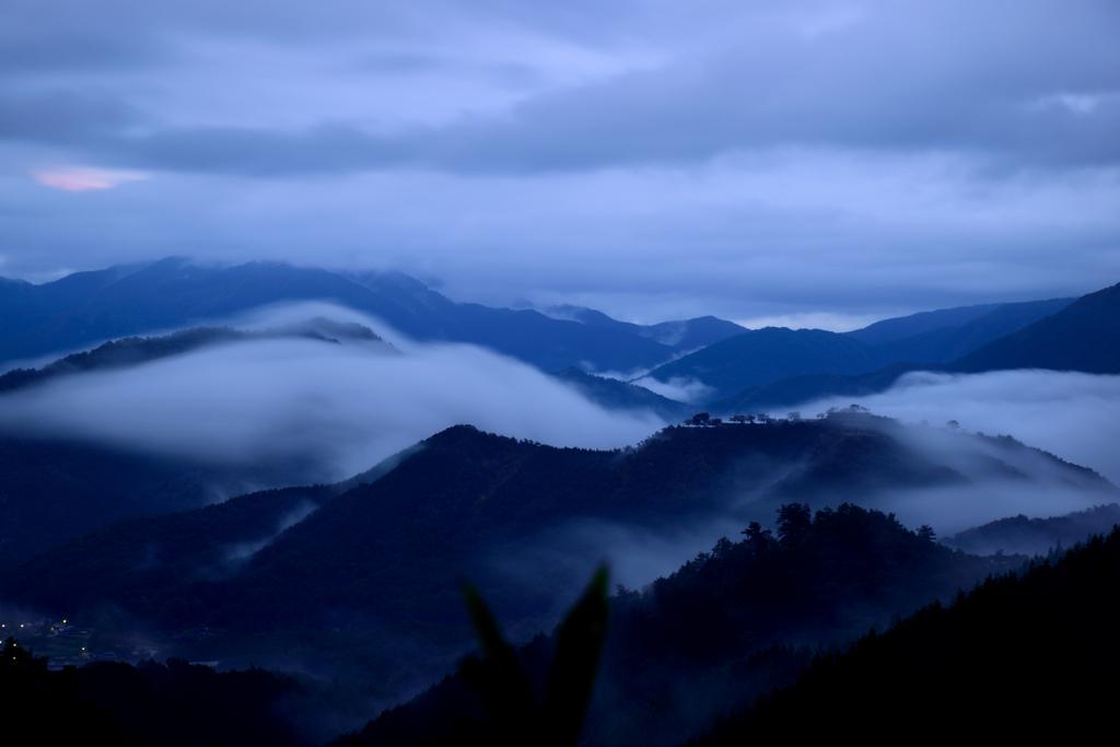 竹田城跡 夜明け前