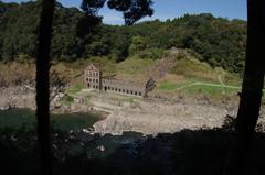 曽木発電所跡