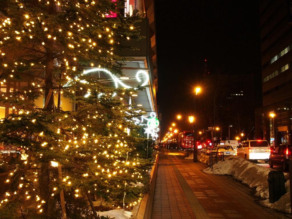 北の街の夜
