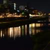 加茂川の川床