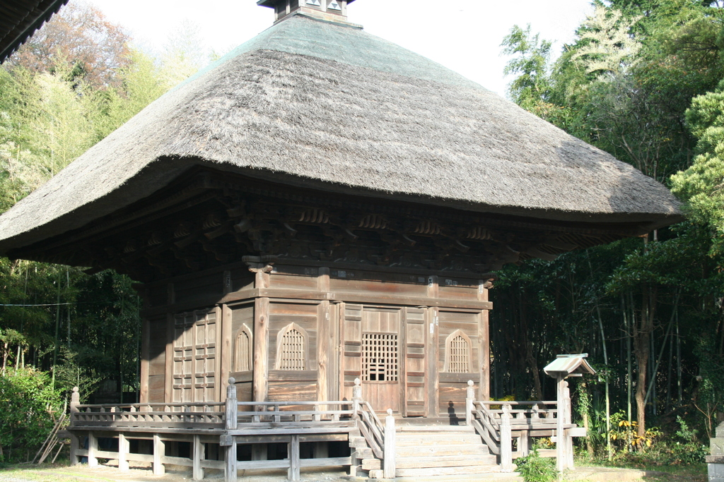 歴史あるお寺(大橋直久)