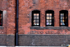 Red brick warehouse
