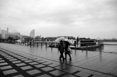 二人の横浜