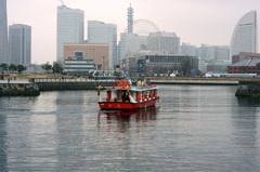 雨上がりの午後横浜にて