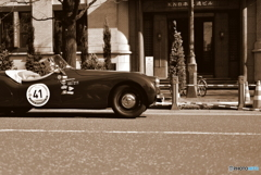 In the city of sepia color