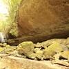 滑川渓谷 岩がごつごつ