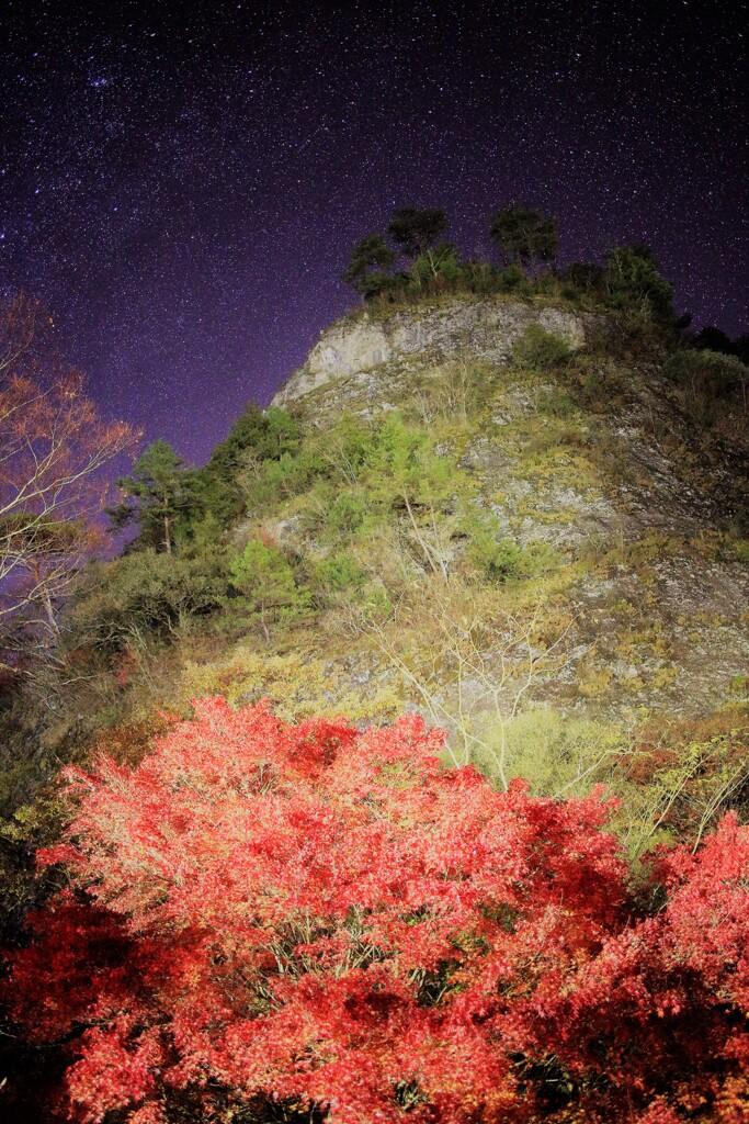古岩屋の紅葉 ④