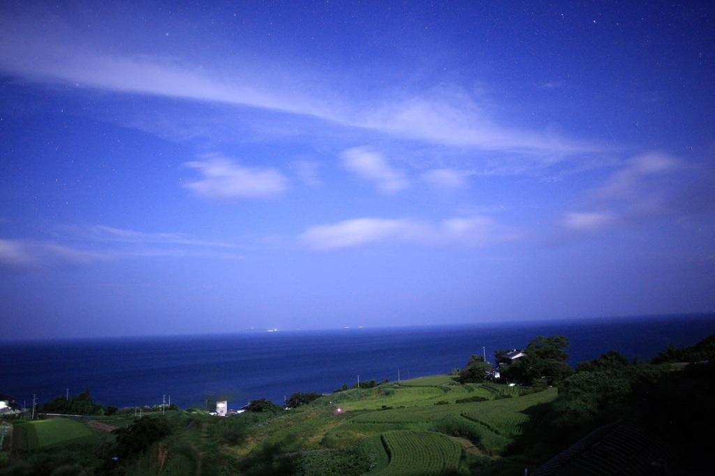 瀬戸内海を眺め