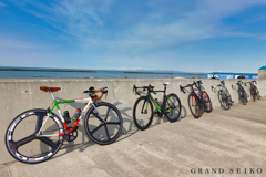 自転車競技部との談義