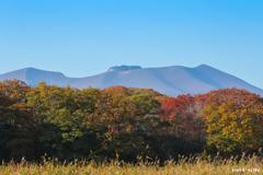 溶岩ドーム 燃ゆる秋