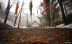 吹雪の参拝