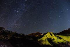 大地の星空