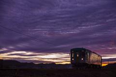 夕暮 北条鉄道