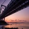 鳴門海峡の日の出