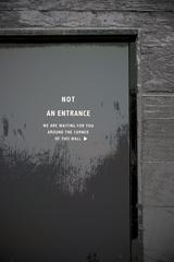 街角点描 -No Entry-