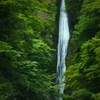 流れ落つる洒の滝