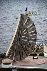 東京湾アクアトンネルの掘削ドリルの歯
