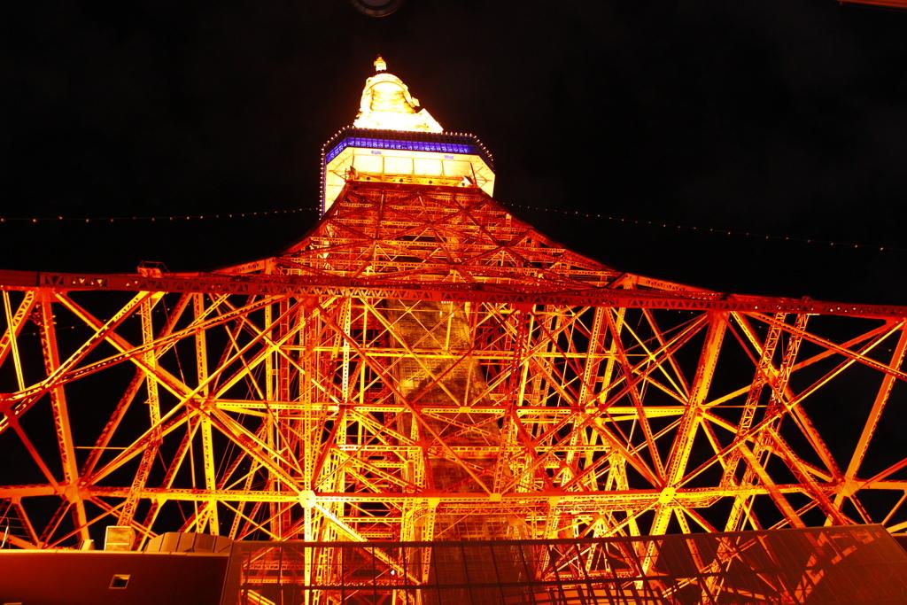 ライトアップ ザ・東京タワー