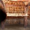 竪穴式住居の内部