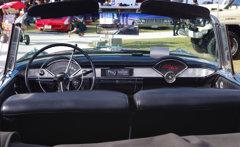 古き良き時代のオープンアメ車