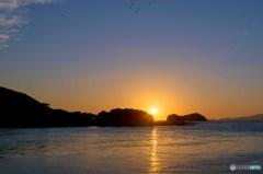 久々のだるま夕陽 1