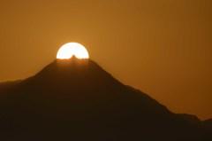 雲仙普賢岳の夕暮れ 2