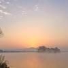 朝霧の江津湖 3