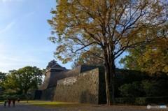 熊本城の夕暮れ 2