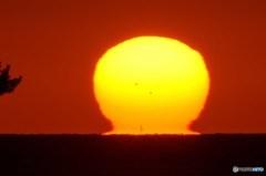 久々のだるま夕陽 4