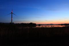琵琶湖の朝 @烏丸半島.02