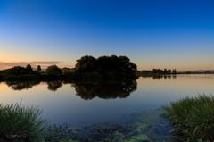 ☆琵琶湖の朝