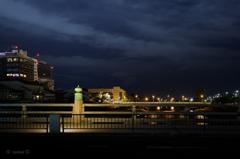 ☆京都三条大橋の擬宝珠02