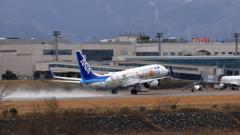 富山きときと空港〜春はまだ遠い〜
