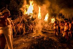 漢達の火祭り
