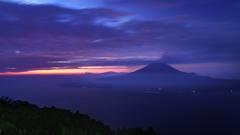 桜島の目覚め