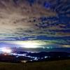 田舎の夜景…