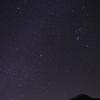 1日遅れてのオリオン座流星群…小さい…