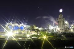 キラキラ夜景
