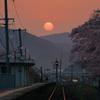 夜明けの大岩駅